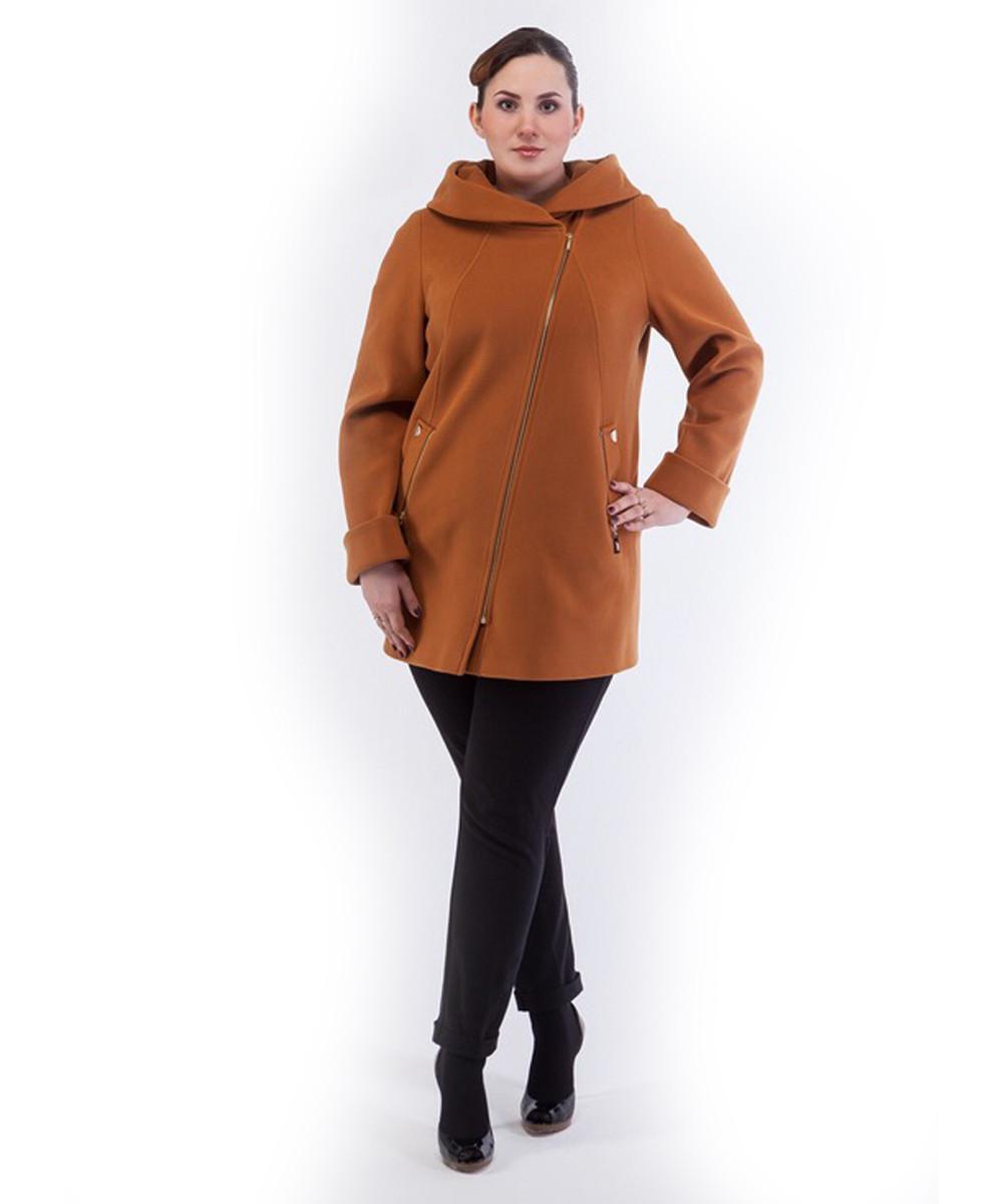 Пальто женское Almatti модель Vb-37 карамель