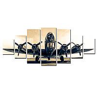 Модульные Светящиеся картины Startonight Летающая Крепость, 7 частей