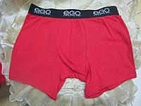 ЕGO трусы шорты мужские ( Боксеры) красные, фото 1