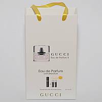 Gucci Eau de Parfum II мини парфюмерия в подарочной упаковке 3х15ml DIZ