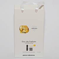 Lady Million Paco Rabanne мини парфюмерия в подарочной упаковке 3х15ml DIZ