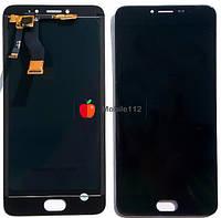 Модуль для Meizu M3 Note M681H/M681Q/M681C (Дисплей + тачскрин), чёрный оригинал
