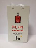 Cacharel Amor Amor мини парфюмерия в подарочной упаковке 3х15ml DIZ