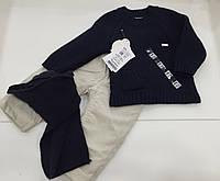Детский свитер , брюки , шарф для мальчика на 3- 6 месяцев