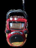 Радиоприемник 1302 + фонарик