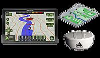 Агронавигатор Agroline S-20 с высокоточной GPS антенной и экраном 18 см