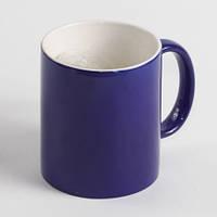 Чашка хамелеон синяя. Чашка магическа