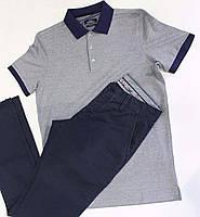 Мужские брюки темно синие весна ETRO