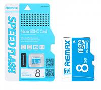Карта памяти microSDHC 8Gb Remax (Class 6)