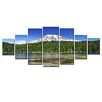Модульные Светящиеся картины Startonight Холодная Гора, 7 частей