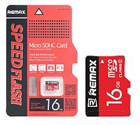 Карта памяти microSDHC 16Gb Remax (Class 10)
