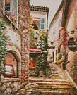 Картина из мозаики Алмазная мозаика Вверх по лестнице (DM-073) 40 х 50 см (Без подрамника), фото 2