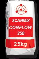 Раствор  для устройства стяжек пола внутри зданий Сканмикс Конфлов 250 / Scanmix CONFLOW 250 (уп. 25 кг)