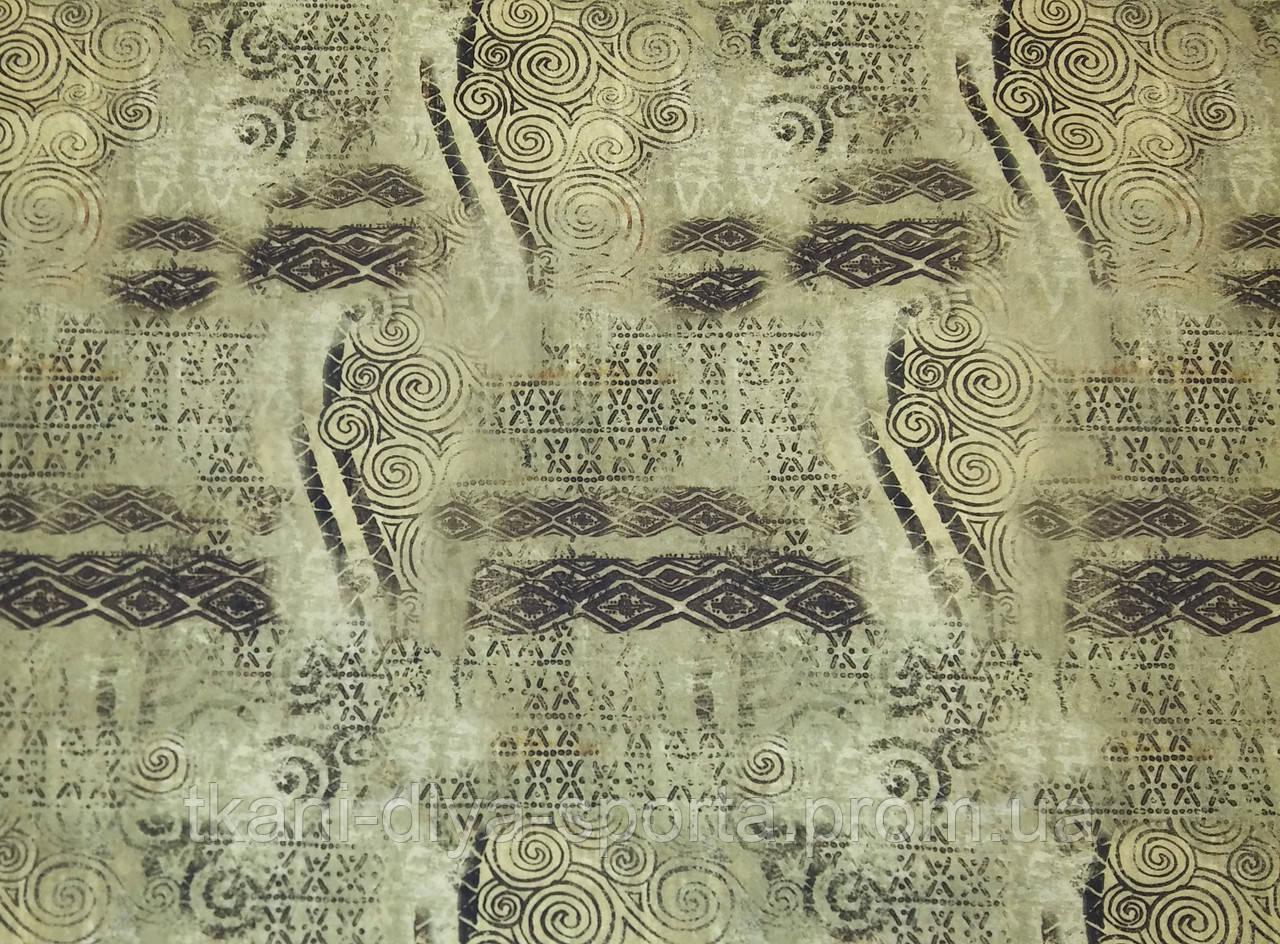 "Бифлекс абстракция завитки на фоне ""папирус"""