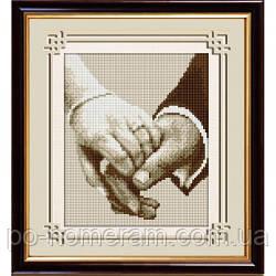Вышивание камнями Dream Art Вместе навсегда (полная зашивка, квадратные камни) (DA-30053) 20 х 24 см