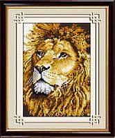 Алмазная вышивка Dream Art Лев (полная зашивка, квадратные камни) (DA-30054) 20 х 28 см