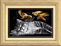 Рисование камнями на холсте Dream Art Сладкий сон (полная зашивка, квадратные камни) (DA-30070) 41 х 61 см