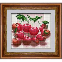 Набор алмазная живопись Dream Art Черешня (полная зашивка, квадратные камни) (DA-30078) 22,5 х 25,5 см