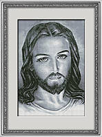 Вышивание камнями Dream Art Иисус (полная зашивка, квадратные камни) (DA-30091) 43 х 62 см
