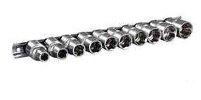 Набір головок Super Locker CRV 1/2, 10шт (8-19мм) Miol 58-300