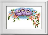 Алмазная мозаика Dream Art Птенцы (полная зашивка, квадратные камни) (DA-30121) 25 х 39 см