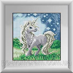 Алмазная мозаика Dream Art Единорог (полная зашивка, квадратные камни) (DA-30145) 37 х 37 см (Без подрамника)