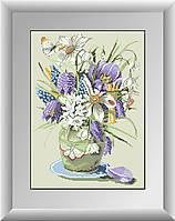 Алмазная вышивка Dream Art Весенние цветы (полная зашивка, квадратные камни) (DA-30215) 34 х 47 см