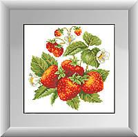Вышивание камнями Dream Art Ваза с виноградом (полная зашивка, квадратные камни) (DA-30223) 25 х 26 см