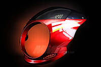 Обтекатель (ветровик) JAWA под круглую фару красный
