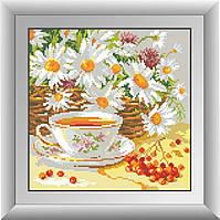 Вышивание камнями Dream Art Полуденный чай (полная зашивка, квадратные камни) (DA-30277) 29 х 29 см