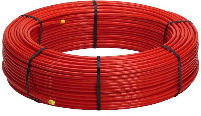Труба для теплого пола с кислородным барьером PERT-EVON