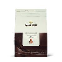 Шоколад молочный  Сallebaut   для шоколадного фонтана 39.3% 2,5кг/упаковка