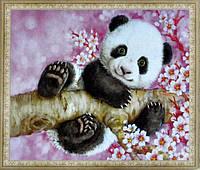 Алмазная вышивка Бриллиантовые ручки Малюк-панда (GU_198621) 48 х 58 см