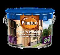 Пропитка для дерева PINOTEX DOORS & WINDOWS (Дор и Виндовс) 10л
