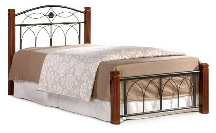 Кровать Миранда 90 и матрас Стандарт Каштан