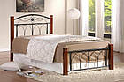 Кровать Миранда 90 и матрас Стандарт Каштан, фото 6