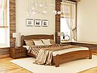 Кровать Венеция Люкс 160 и матрас Эпсилон 101 - Орех темный, фото 6