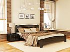 Кровать Венеция Люкс 160 и матрас Эпсилон 101 - Орех темный, фото 9