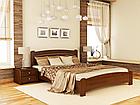 Кровать Венеция Люкс 160 и матрас Эпсилон 101 - Орех темный, фото 10