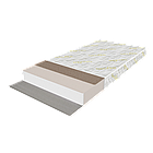 Кровать Дуэт 90 с ящиками и матрас Слим Ролл 102 - Бук, фото 3