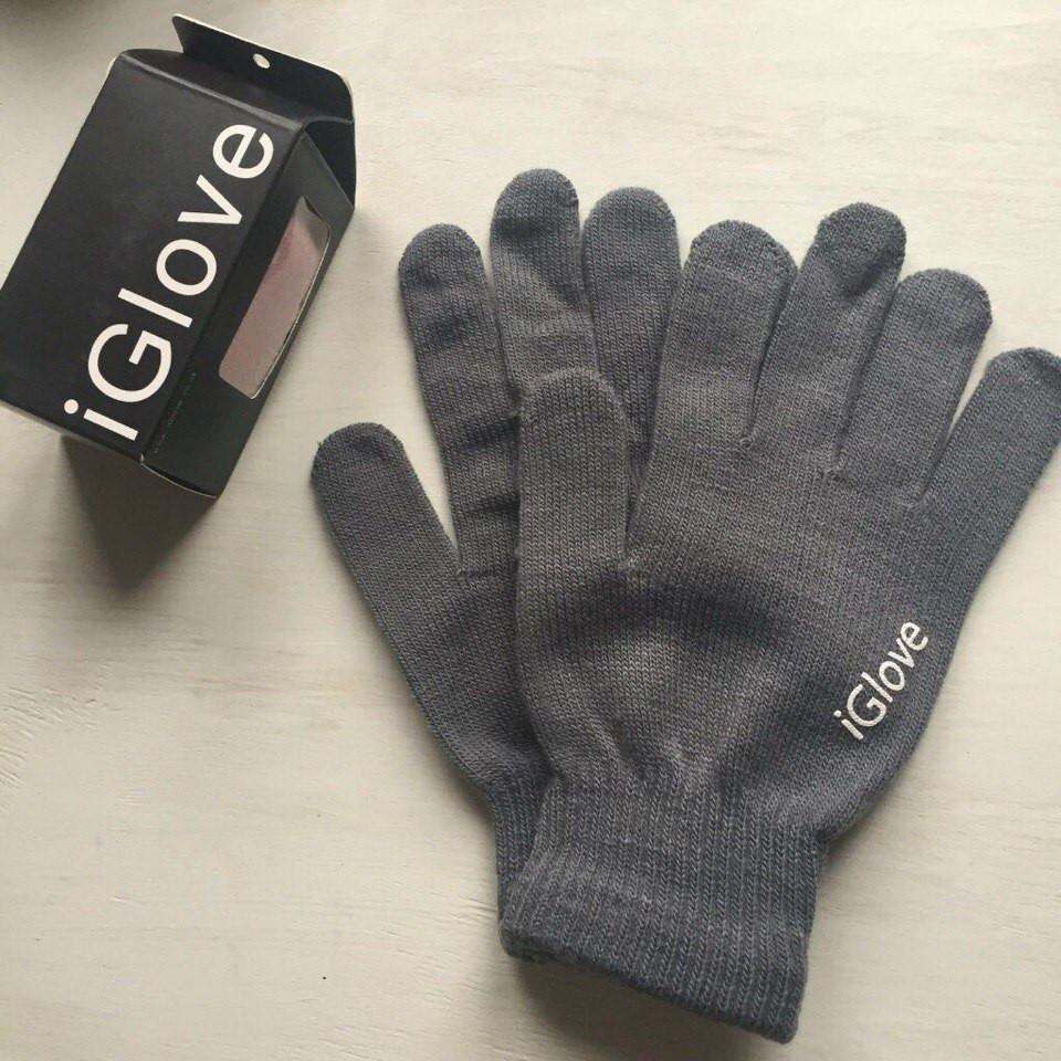 Перчатки iGlove для сенсорных устройств тёмно-серые