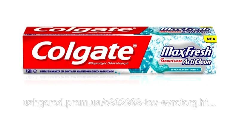 Зубная паста Colgate Max Fresh Acti Clean 75 мл
