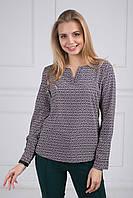 Легкая блуза с интересным принтом