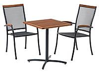 Комплект  садовой мебели из (2 кресла и столик квадратный)