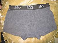 ЕGO трусы шорты мужские ( Боксеры) серые, фото 1