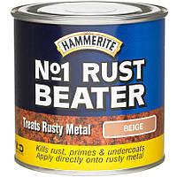 Грунт для черных металлов HAMMERITE RUST BEATER  2,5Л