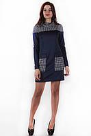 Эксклюзивное женское синее платье SO-14013-BLU ТМ Alpama 44-48 размеры
