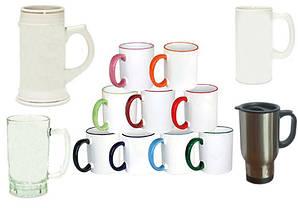 Кружки, чашки, бокалы, автокружки