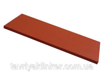 Напольная плитка подступень King Klinker (01) Рубиново красный 150х245х12