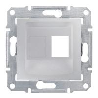 Адаптер для коннекторов 1М AMP MOL КАТ5Е 6 UTP, цвет алюминий Sedna